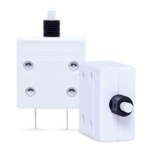 Series 2 Model 600 & 601 Push-to-Reset Thermal Circuit Breakers